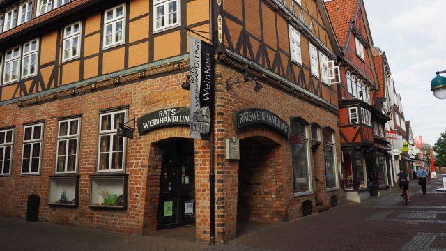 Die Ratsweinhandlung in der Hansestadt Uelzen (c) Hansestadt Uelzen