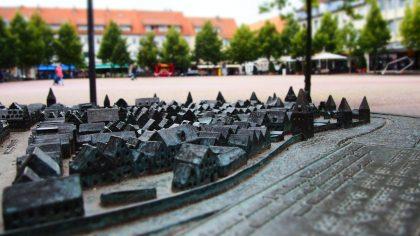 Das Stadtrelief © HUE