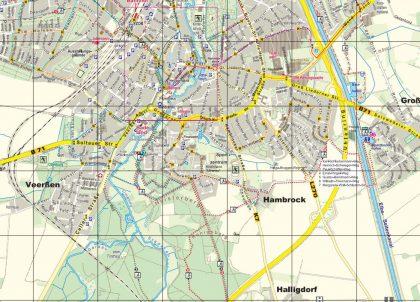 Stadtplan von Uelzen