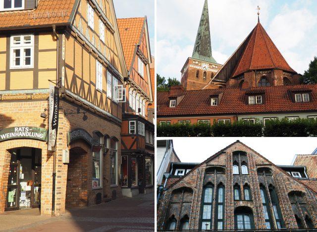 Der hanseatische Baustil in Uelzen © Hansestadt Uelzen