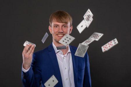 Zauberer Jan Philipp Lehmker ©Jan-Phillip Lehmker