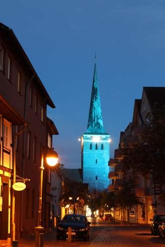 Das Leuchten der Stille in der St. Marien - Kirche © Oliver Becher