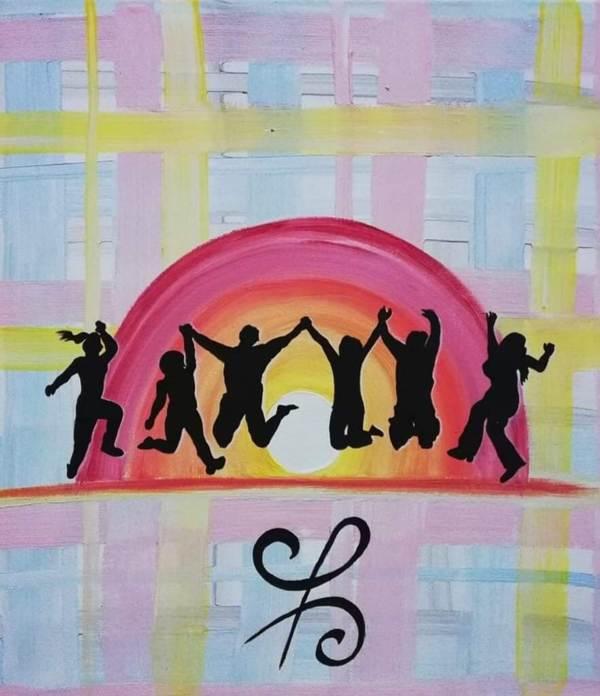 Das Bild steht für Freundschaft und Zusammenhalt (c) Andrea Petrich