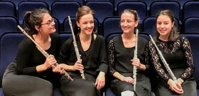 Maikonzert 2021 mit dem Ensemble Fleitjepiepen © Ursula Griep