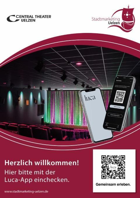 Luca-App Plakat vom Central Theater