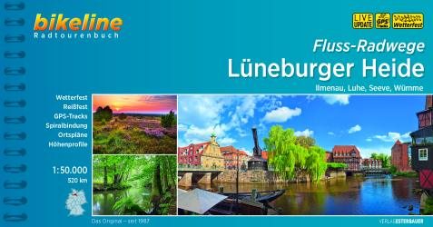 Titelbild Bikeline Lüneburger Heide Radweg