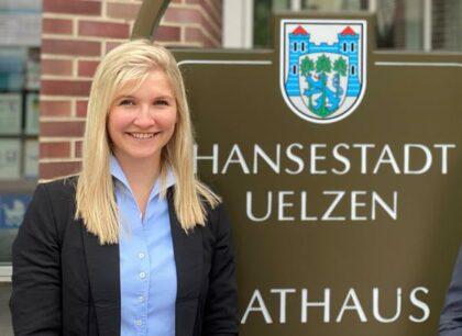 Stadtmanagerin Vivian Jessen