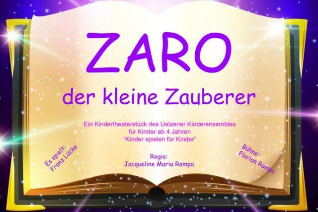 Zaro der kleine Zauberer (c) Jaqueline Rompa