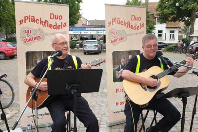 Duo Plückfiedel Beach